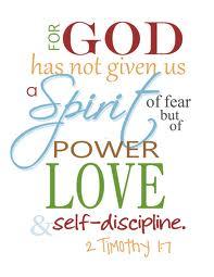fear scripture
